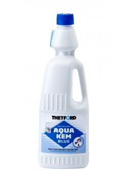 Химическая жидкость Thetford Aqua Kem Blue для нижнего бачка биотуалета, 1/2 л