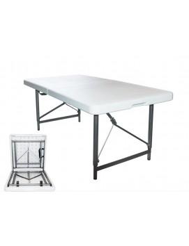 Стол складной Green Glade металлический с пластиковой столешницей, 122 см