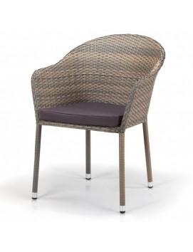 Кресло Афина Y375G-W1289 из искусственного ротанга