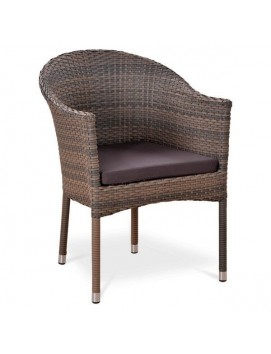 Кресло Афина Y350G-W1289  из искусственного ротанга