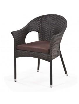 Кресло Афина Y97B-W37  из искусственного ротанга