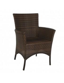 Кресло Кипр из искусственного ротанга