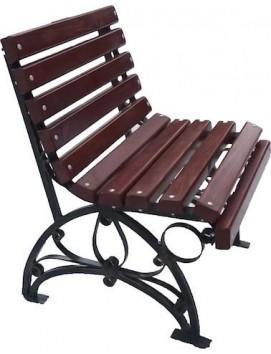 Кресло Флора деревянное на стальном каркасе