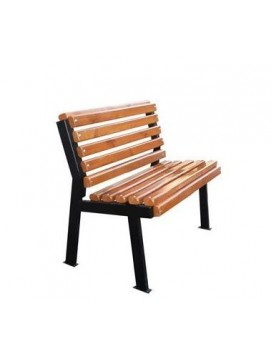 Кресло Модерн без подлокотников  деревянное на стальном каркасе