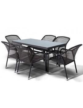 Комплект мебели Романо из искусственного ротанга