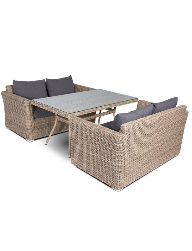 Комплект мебели Мокко из искусственного ротанга