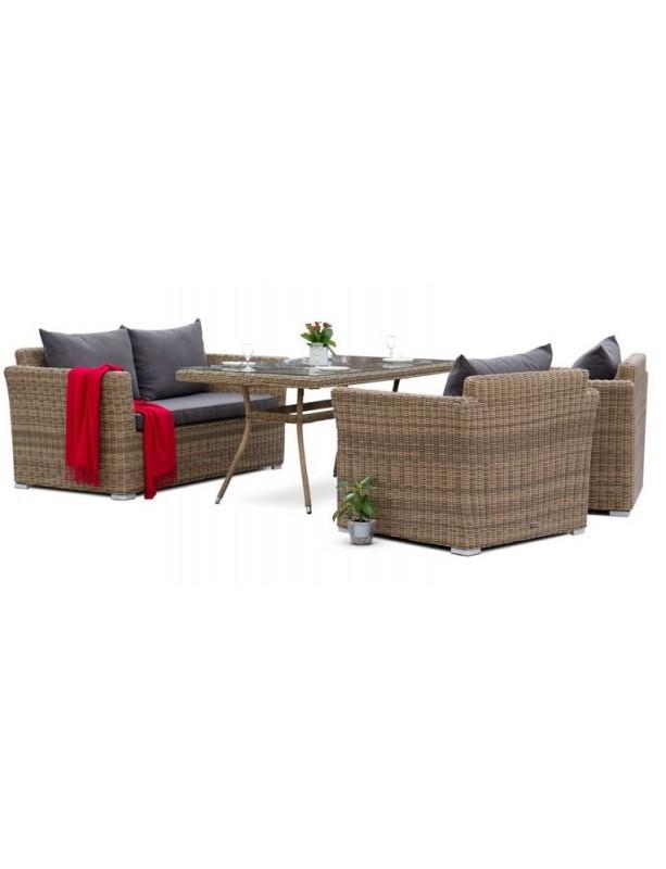 Комплект мебели Аффогато из искусственного ротанга