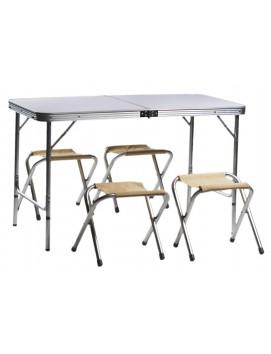 Набор мебели для пикника Green Glade 702 МДФ и алюминий