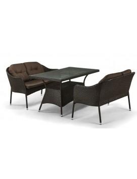 Комплект мебели T198A из искусственного ротанга