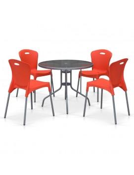 Комплект мебели TD90/XRF065А пластик и металл
