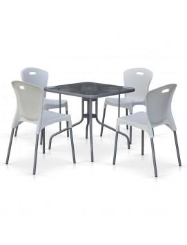 Комплект мебели TL80x80/XRF065A пластик и металл