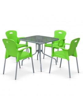 Комплект мебели TL80x80/XRF065B пластик и металл