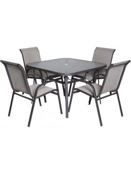 Набор мебели Сан-Ремо 2 металл и текстилен