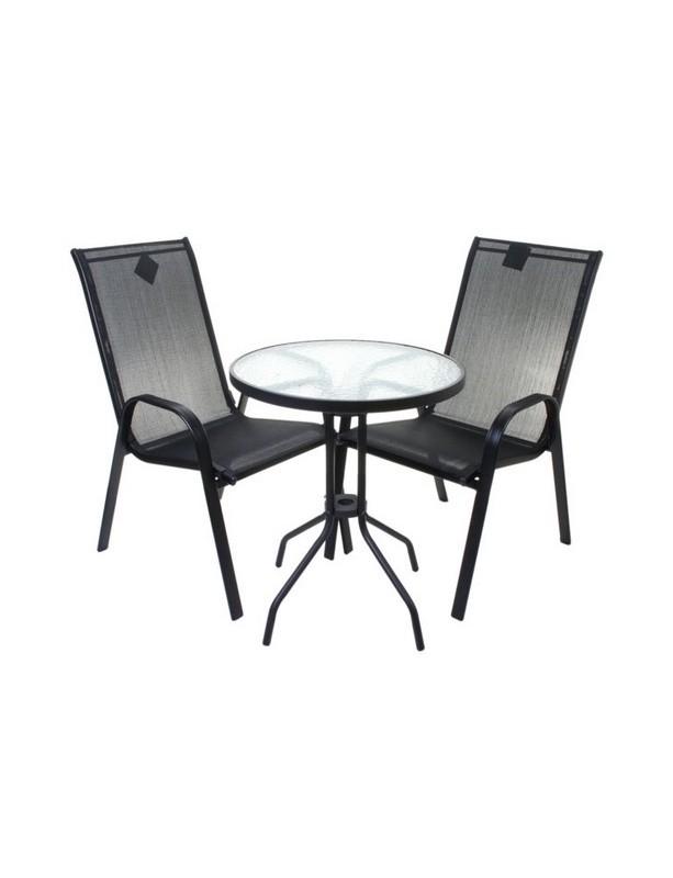 Набор мебели Сан-Ремо металл и текстилен