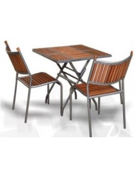 Набор мебели Бетта-мини металл и бук