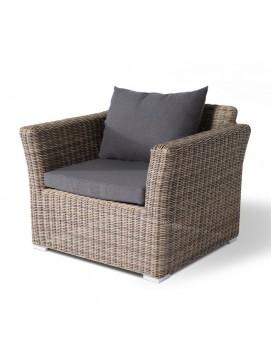 Кресло Капучино из искусственного ротанга