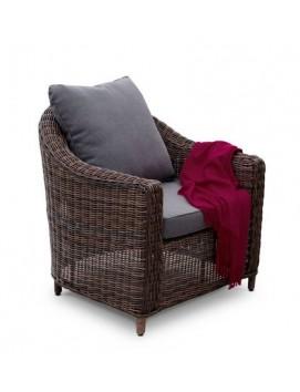 Кресло Кон Панна из искусственного ротанга