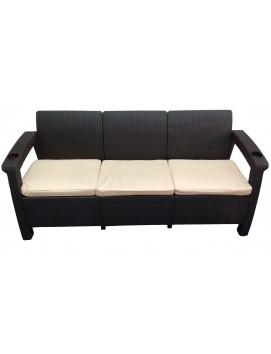 Диван Tweet Sofa 3 из штампованного пластика
