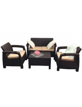 Комплект мебели Tweet Terrace Set из штампованного пластика