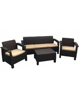 Комплект мебели Tweet Terrace Set  Max из штампованного пластика