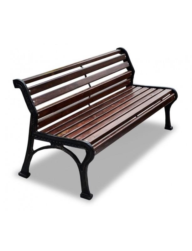 скамейка ретро стиль деревянная на чугунном каркасе 150180200300 см