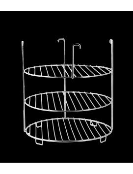 Этажерка для тандыра, большая 3-х ярусная, 29 см