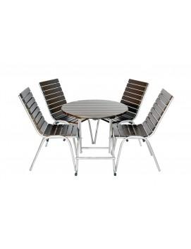 Набор мебели Вишня сталь и сосна