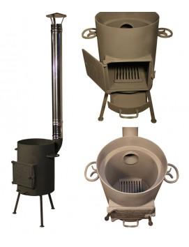 Печка МО-12 под казан от 8 до 12 литров
