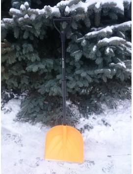 Высокопрочная снеговая лопата  САНТА желтая