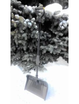 Высокопрочная снеговая лопата  СНЕЖНАЯ КОРОЛЕВА черная