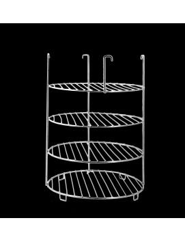 Этажерка для тандыра, средняя 4-х ярусная, 22 см