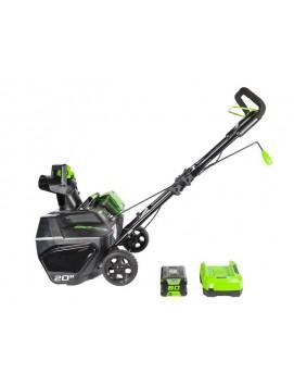 Снегоуборщик аккумуляторный Greenworks 80V 51 см