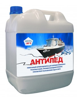 Незамерзающее средство Антилед для биотуалета, 10 л