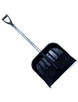Морозостойкая лопата 470/420 с накладкой, с алюминиевым черенком и ручкой