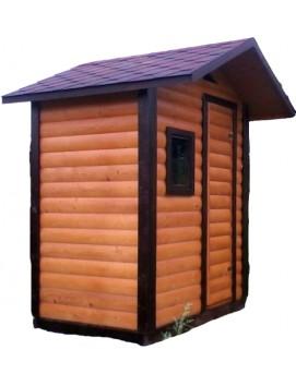 Деревянный туалет К-17