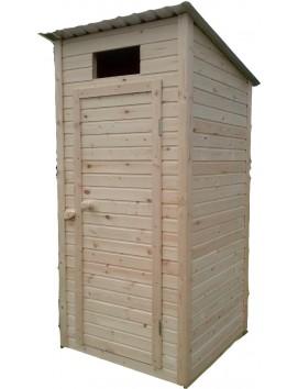 Деревянный туалет квадрат К-1
