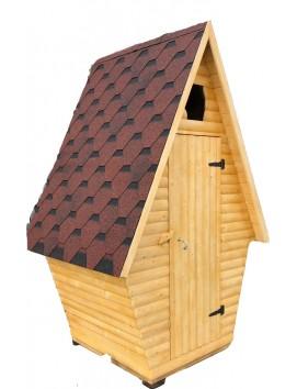 Деревянный туалет, блокхаус