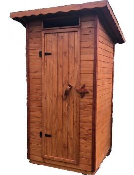 Деревянный туалет Классика