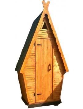 Деревянный туалет ДТ-3