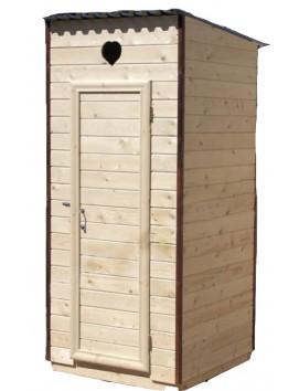 Деревянный туалет Евро