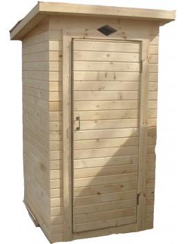 Деревянный туалет Прямоугольный