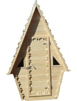Деревянный туалет К-12