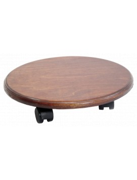 Подставка передвижная  деревянная круглая