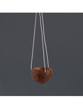 Кашпо на веревке «Кокос» 1 л