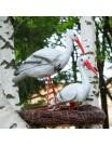 Садовая фигура Аисты в гнезде