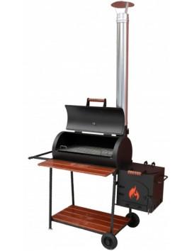 Смокер, мангал, гриль-барбекю и печь под казан ММ30